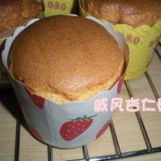 戚风杏仁蛋糕