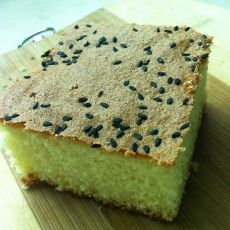 黑芝麻海绵蛋糕的做法