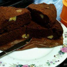 香蕉可可蛋糕的做法