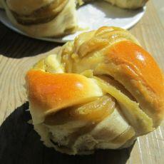 卷花面包的做法