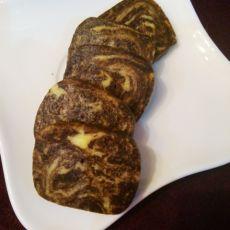 巧克力大理石纹路饼干