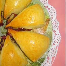 葡萄干司康面包的做法