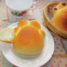 红豆小脚印面包