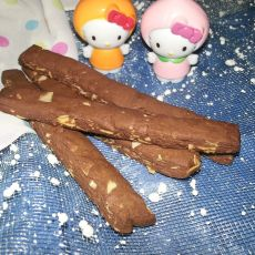 杏仁巧克力饼干条的做法