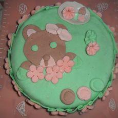 翻糖蛋糕小熊