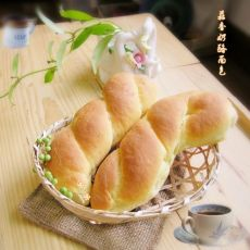 蒜香奶酪面包的做法