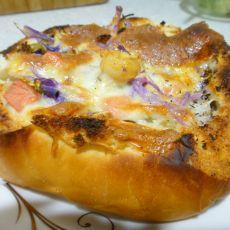 蔬菜沙拉面包盒