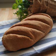 全麦老面面包