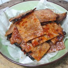 蜜汁猪肉脯的做法