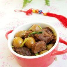 粟子焖羊肉