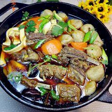 羊肉鱼丸暖锅