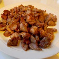自制家庭烧烤味羊肉片的做法