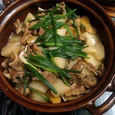 萝卜焖羊肉煲
