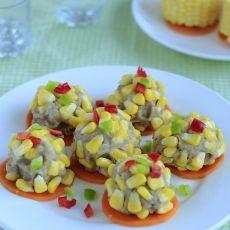 玉米丸子的做法