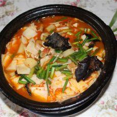 羊肉砂锅面片