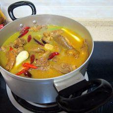 蒜瓣羊肉锅