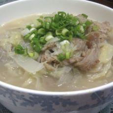 白菜羊肉汤