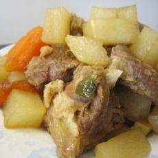 白萝卜羊肉