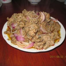 香炒孜然羊肉的做法