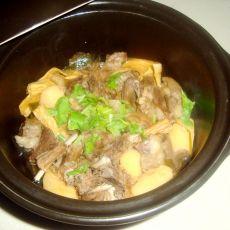 腐竹羊肉煲