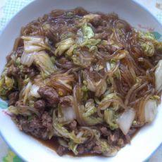 白菜粉条肉