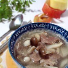 【羊肉菌菇汤】