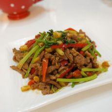 野山椒炒羊肉的做法
