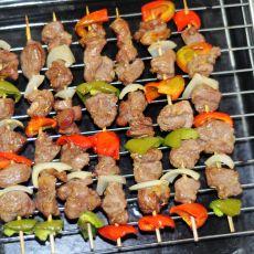 彩椒烤羊肉
