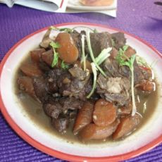 胡萝卜羊肉