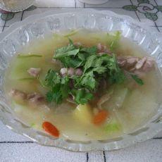 砂锅炖冬瓜羊肉