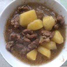 土豆炖羊肉