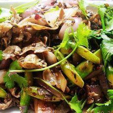 芦笋洋葱孜然羊肉的做法