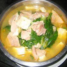 羊肉炖豆腐