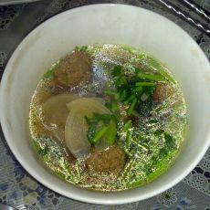 小萝卜羊肉丸子汤