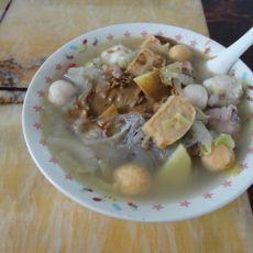 白菜鱼丸汆羊肉