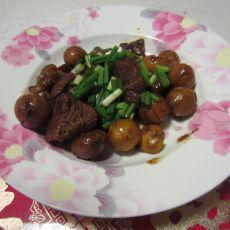沙茶栗子羊肉