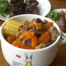 羊肉炖玉米胡萝卜
