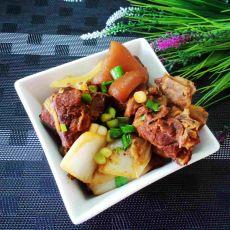 白菜炖羊肉