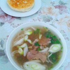 葱香羊肉汤