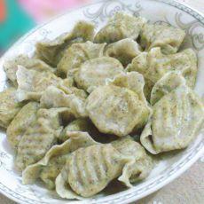 绿豆面羊肉水饺