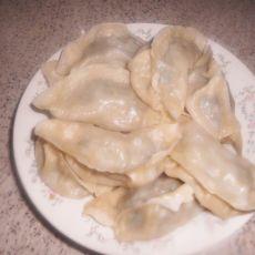 羊肉香菜馅蒸饺