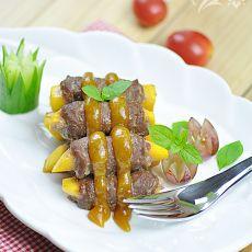 香芒牛肉卷