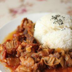 意大利牛肉烩饭――电饭锅做出的美味