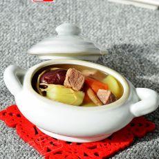 红枣党参煲牛肉