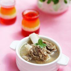清炖小牛排骨汤