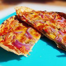 牛肉洋葱烤披萨