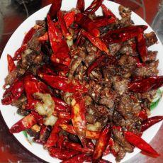 干煸麻辣牛肉条的做法