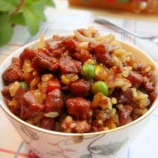 牛肉粒洋葱炒饭的做法