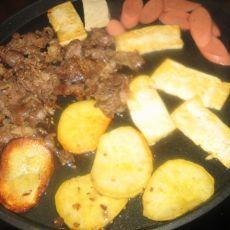 煎牛肉的做法