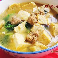 牛肉丸冻豆腐汤-首发